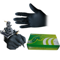 Wholesale Disposable Latex Gloves Tattoo - 100pcs Tattoo Disposable Latex Gloves Tattoo Supplies