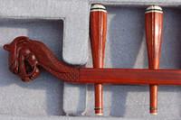 ingrosso scultura di piombo-Strumento musicale all'ingrosso della Cina, erhu, annatto erhu, scultura del annatto che conduce l'erhu
