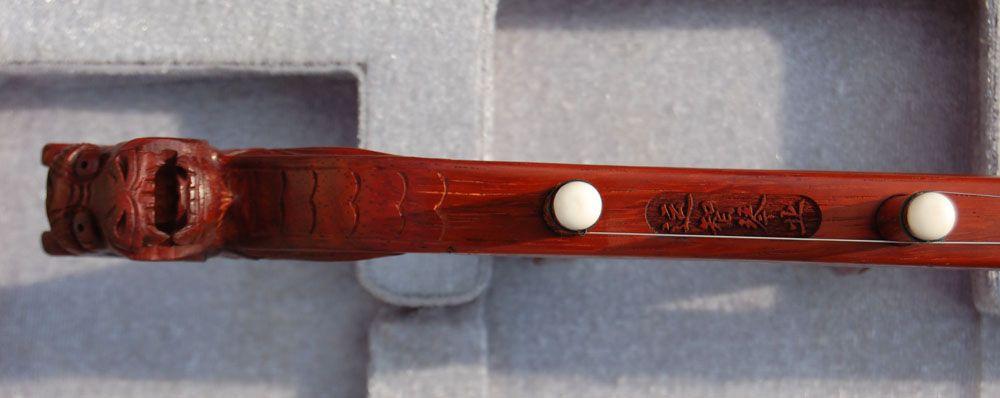 Wyprzedaż chiński instrument muzyczny, Erhu, Annatto Erhu, rzeźba Annatto prowadzi Erhu