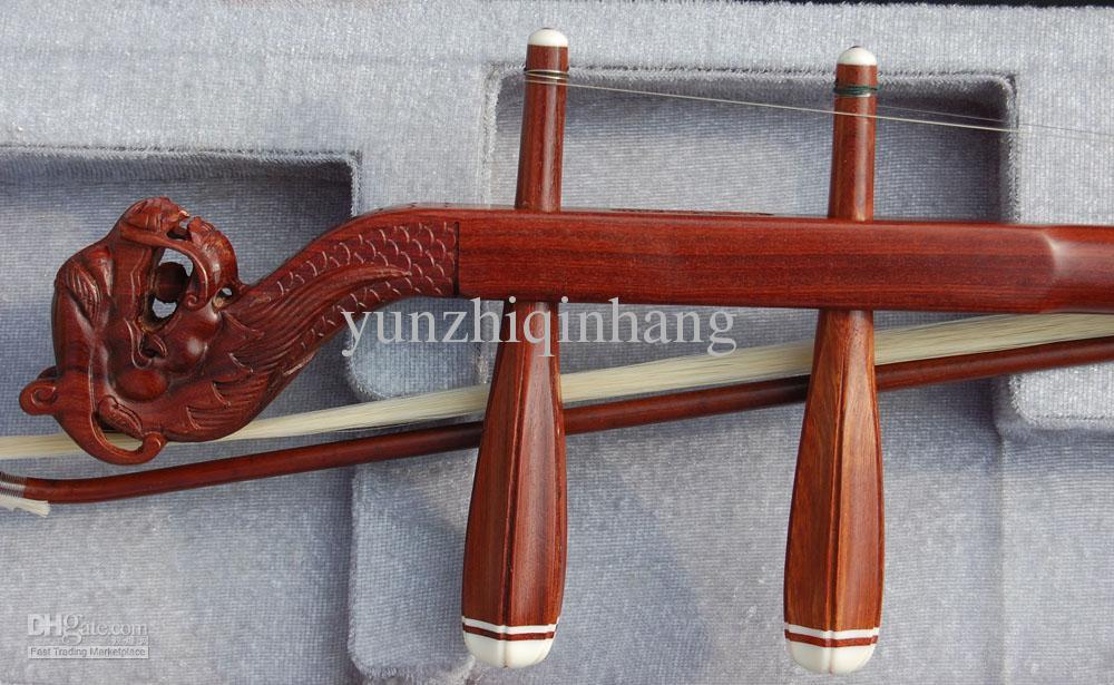 도매 중국 악기, erhu, 빨간색 wingceltis erhu, annatto 선도 erhu, 직접 manufact