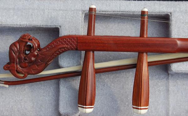 top popular Wholesale China musical instrument, erhu, red wingceltis erhu, annatto leading erhu, direct manufact 2021