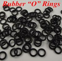 Wholesale Tattoo Gun Rings - 500pcs Tattoo Supplies Shockproof Rubber O Rings For Tattoo Machine Gun