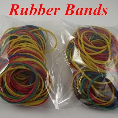 귀영 나팔 기계 총을위한 100pcs 귀영 나팔은 다채로운 고무줄을 공급한다