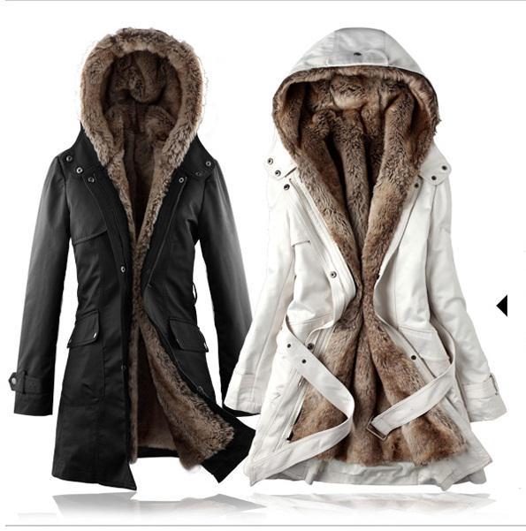 2017 Designer Women'S Peacoat Coat Collarless Tweed Coats Long ...