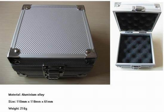 소형 알루미늄 귀영 나팔 기계 상자 귀영 나팔 기계 총 케이스 귀영 나팔 공급