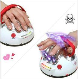 Wholesale Shock Test - funny toy ultimate shocking Liar Electric Shock lie detector Gift test true or lie