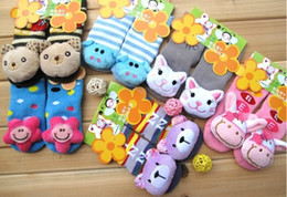 Wholesale Super Cute Girl Baby - Baby Boys Socks Floor Socks Baby Girl Socks Super Cute Cartoon Design Mix Colors Girls Long Stockings Socks Children's Socks Dress Socks