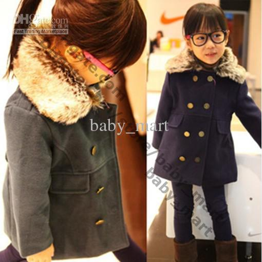 2011 Girls Outerwear Girl Winter Coat Baby Girls Boys Jacket Coats ...