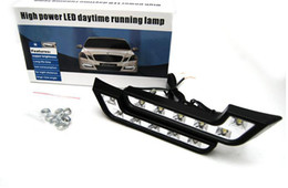 Wholesale Daytime Mercedes - Universal L-type vehicle daytime running lights LED daytime running lights