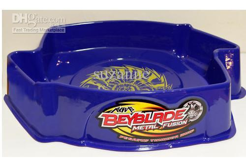 new arrival blue arena beyblade arena spin top toy stadium. Black Bedroom Furniture Sets. Home Design Ideas