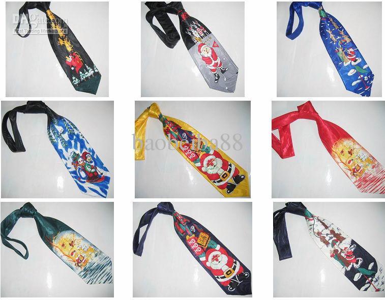 Krawatte der Weihnachtsbinder-Männer bindet Krawatte Weihnachtsgeschenk-Batch, das / mischt