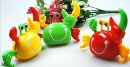 Wholesale Walking Toys Babies - free shipping baby toy crab walk the eyes move clockwork toys babies