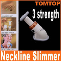 Wholesale Portable Neck Exerciser Chin - Portable Neckline Slimmer Neck Exerciser Chin Massager Thin Jaw Reduce Double Thin H4826