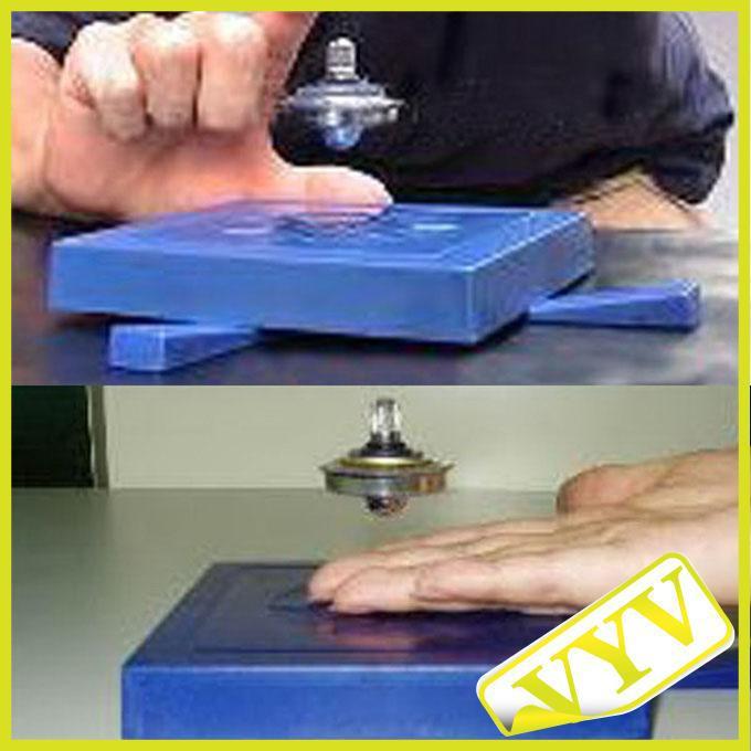 Magische ufo hi-tech permanente magnetische suspensible flying disk drijvende schotel speelgoed 1 stks
