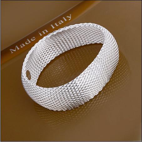 La nueva pulsera de la manera 925 de la plata esterlina caliente cerró el envío libre 10piece / lot de la joyería de la muchacha de la red