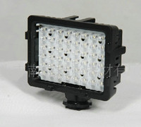 videocámara led al por mayor-CN-48H 48 luces de video LED Panel Ultra brillante cámara de vídeo Videocámara LED luz de iluminación