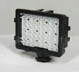 Luces de camcorder led online-CN-48H 48 luces de video LED Panel Ultra brillante cámara de vídeo Videocámara LED luz de iluminación