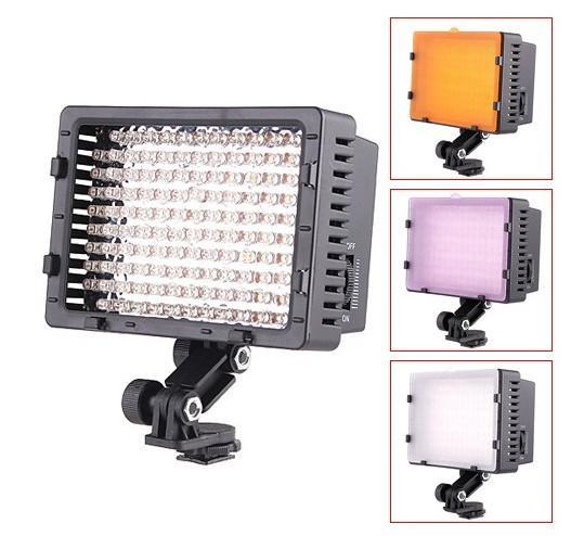 CN-126 126 LED Light Video Camera Light Lighting for Camcorder DV Camera Lighting 5400K