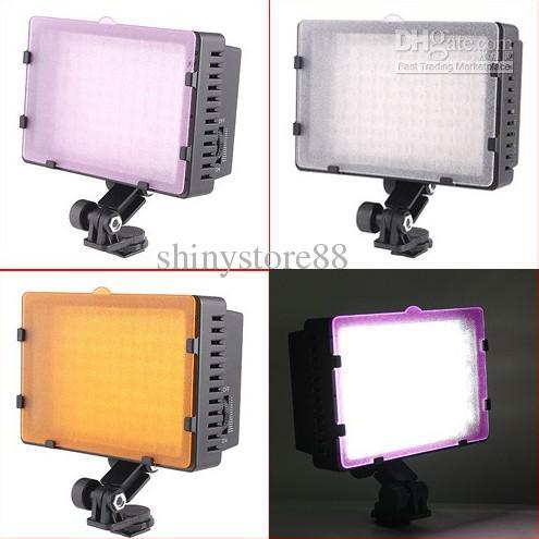 6pcs* CN-126 126 LED Video Light Camera photo lights for Camcorder DV Camera Lighting 5400K