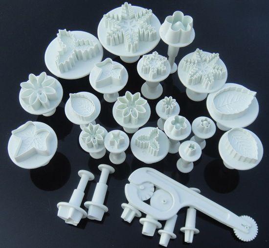 26 stücke Kuchen dekorieren cutter fondant sugarcraft kolben blume Miniaturen kuchen Werkzeug, kuchenform