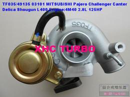 2019 turbocompressore per mitsubishi pajero shogun NUOVO TF035 / 49135-03101 Turbocompressore per MITSUBISHI Canter, Challenger, Delica, L400, Pajero, Shogun, 4M40,2.8L turbocompressore per mitsubishi pajero shogun economici