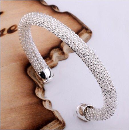Le nuove aperture di gioielli di modo del braccialetto di fascino dell'argento sterlina 925 di migliore vendita liberano il trasporto 10pezzo