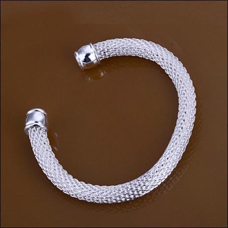 Бестселлеры новый стерлингового серебра 925 браслет ювелирных изделий отверстия бесплатная доставка 10 шт.