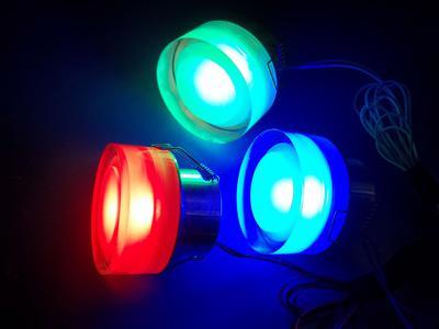 три цвета (красный,зеленый, синий) 3x1w высокой мощности, потолочное освещение, светильник, RGB цвет бесплатная доставка