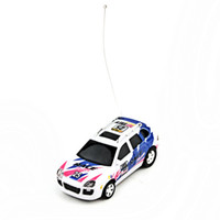 Cool Control Toy Coke Can Mini RC Radio Télécommande Micro Racing Car Bleu de haute qualité 5pcs