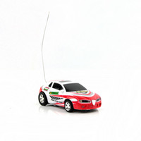 Wholesale Quality Rc Cars - Red Racing Car New Style Coke Can Mini RC Radio Remote Control Carhigh quality