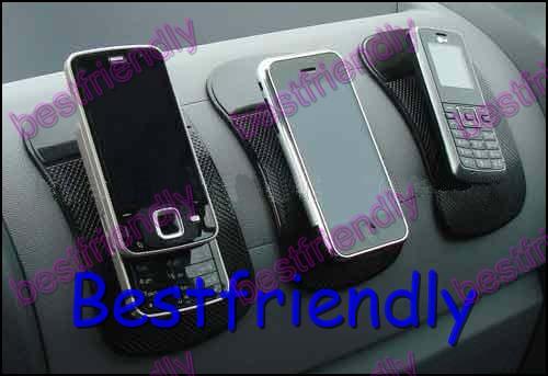 Groen / Roze Magic Sticky Pad Antislip Mat Non Anti Slip Mat Antislip Mat Auto Auto Dashboard Sticky Pad Holder MP3