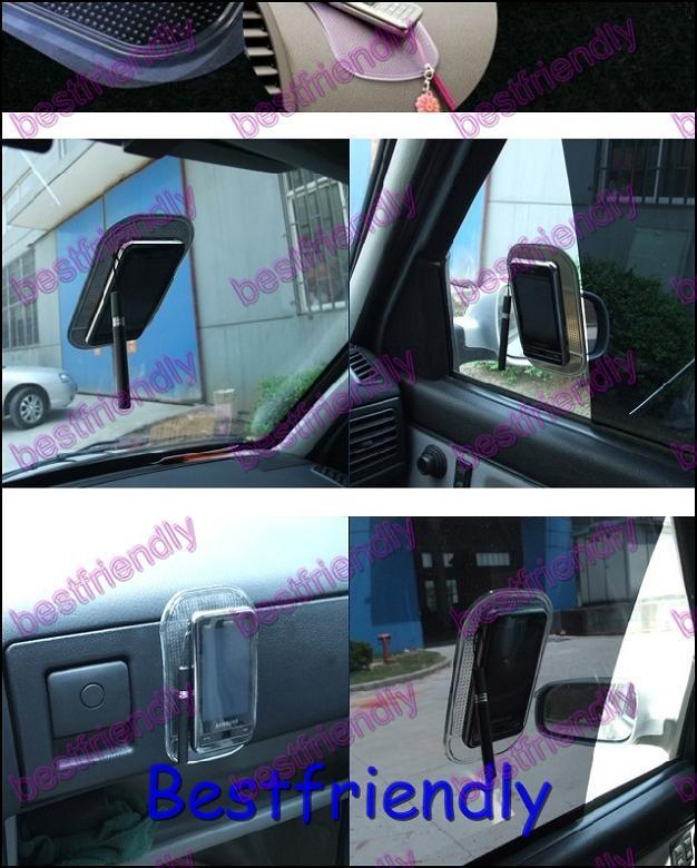 옐로우 매직 끈적 패드 안티 - 슬립 매트 비 안티 슬립 매트 자동차 대시 보드 끈적 패드 홀더 그린 블랙