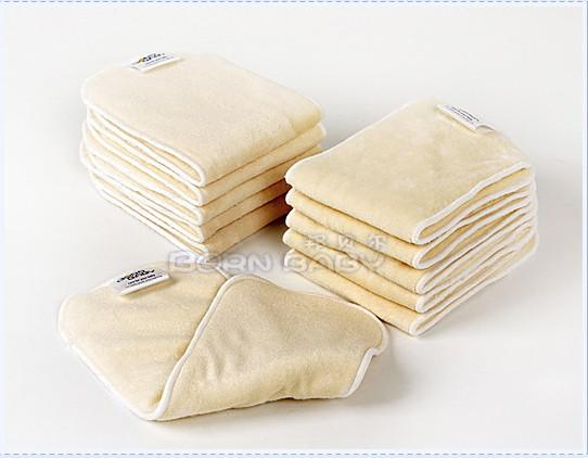 Organic BAMBOO Inserts for baby Cloth Diaper Nappy Soakers insert CLOTH DIAPER NAPPY CLOTH NAPPies