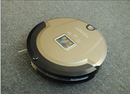 Wholesale Vacuum Cleaner Robotics Free Shipping - ROBOT COOL GIFT who Never ask for Salary NOR strike Robotic cleaning vacuum,Lower Noise,FREE SHIPPING
