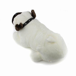 China 2017 New High quality Lovely Plush Stuffed Soft Bulldog Doll Toy Animal Pet Dog Toy Mix Order 1pcs suppliers