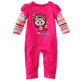 Discount girls 2t onesies - Jumping Beans baby rompers onesies girls shirts jumper outfit top bodysuits jumpsuits garments ZW643