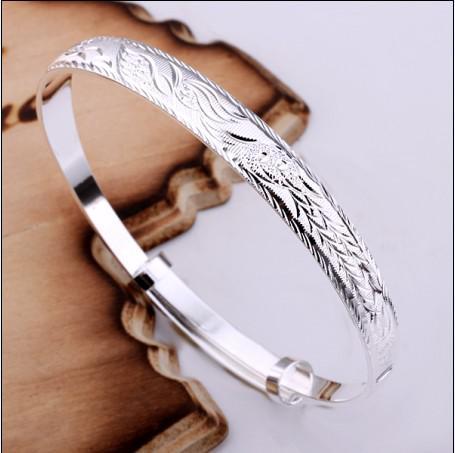 El regalo más vendido de la Navidad de la joyería de la pulsera 925 de la plata esterlina de Phoenix libera el envío 10piece