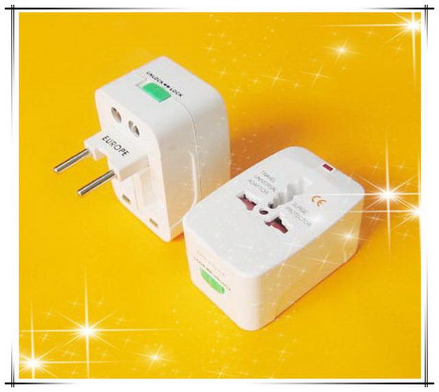 All In One Travel Adaptor Brand New Charger Adaptor Plug Europe Uk Usa Japan Australia Spain
