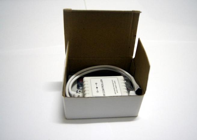 12V 6A 24KERECTION IRコントローラ+ 5050 SMDフレキシブルLEDストリップライトRGB用リモートコントローラー