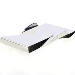 Canada Portefeuille à la mode Slip Clip, titulaire de la carte, Double Sided Money Clip Organisateur de stockage haute qualité 20pcs Offre