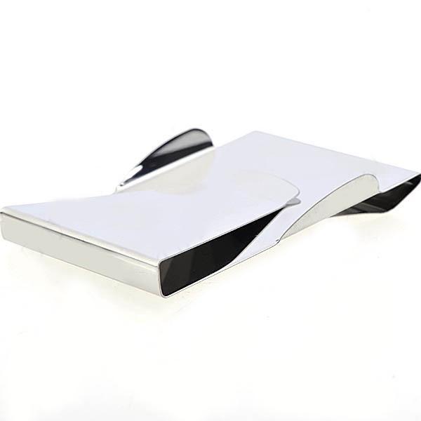 Portefeuille à la mode Slip Clip, titulaire de la carte, Double Sided Money Clip Organisateur de stockage haute qualité 20pcs
