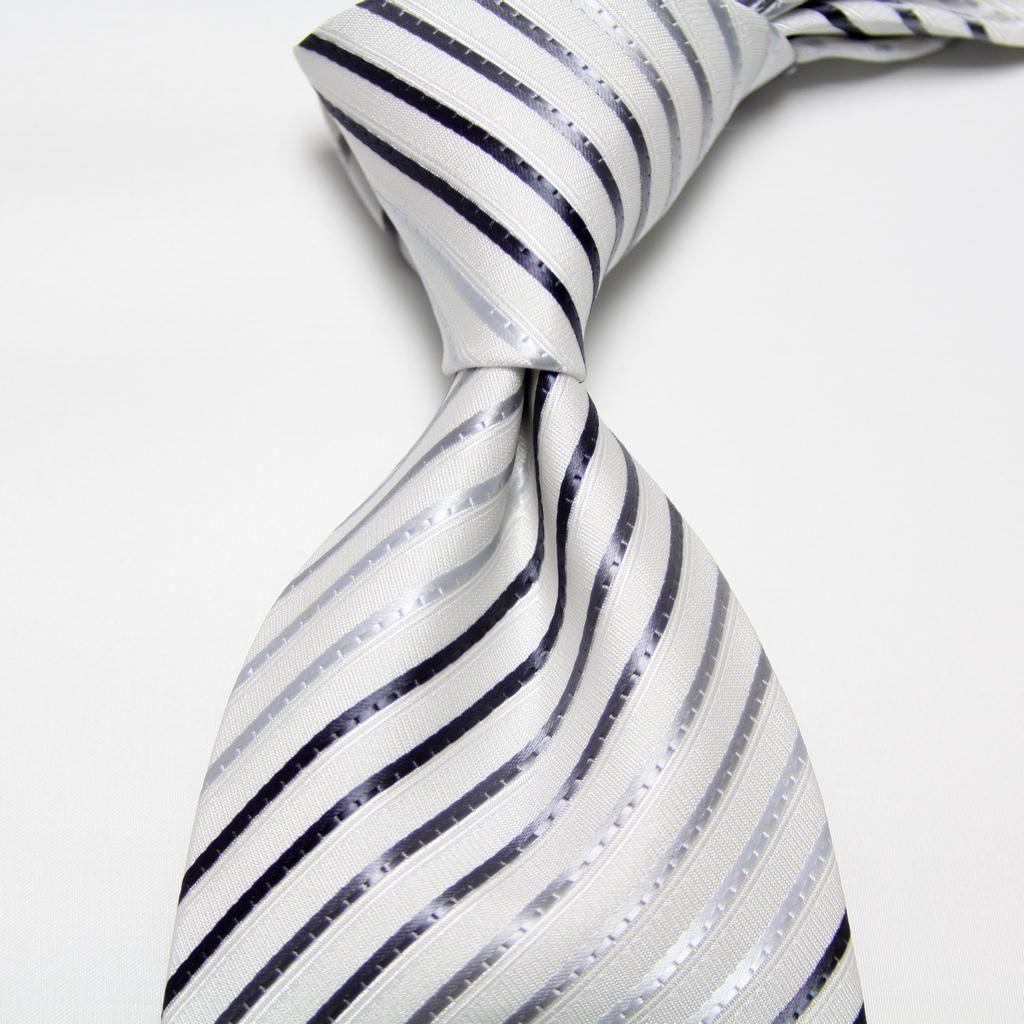 Neckties men 39 s ties wedding ties striped ties dress tie for Striped tie with striped shirt