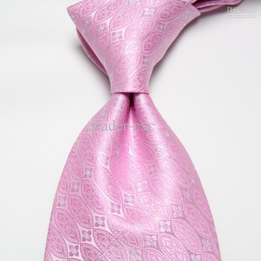 Neckties Pink Men 39 S Ties Wedding Ties Striped Blue Ties