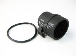 Wholesale Airsoft Aeg M4 - Anti-Reflection Black KillFlash for ACOG 4 X 32mm Scopes Cover Mesh Airsoft M4 AEG gbb