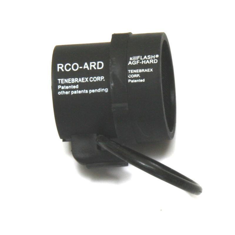 Anti-Reflection Black KillFlash per ACOG 4 X 32mm Scope Cover Mesh Airsoft M4 AEG gbb