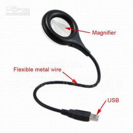 Wholesale Bright Led Star Light - Super bright USB LED Light lamp 18 LED optional Flexible Portable Switch Magnifier Tool Laptop