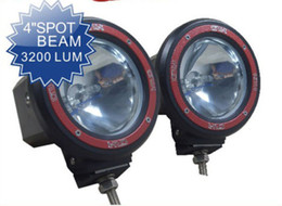 "2 x 55W 4 ""HID XENON DRIVING SPOT SUV CARRETERA ATV JEEP LIGHT 4WD 4X4 W / BUILT IN BALLASTS SUPER"