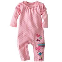 ingrosso camicie di salto di fagioli-Jumping Beans bambino pagliaccetti onesies ragazze camicie pigiama abiti tute tute tuta ZW646