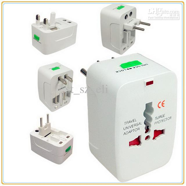 50pcs Universal travel 4 in 1 Adaptor/ Adapter plug Multifunctional US/ EU/ UK/ AU Plugs & Sockets