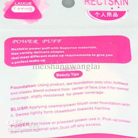 Quincunx Makijaż Songe Face Puff Facial Twarz Gąbka Makeup Cosmentix Powder Puff Różowy 55 * 8mm